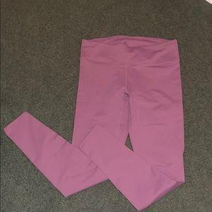 Mauve Fabletics workout pants